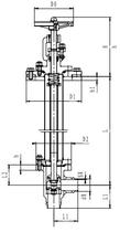 Криогенный запорный клапан угловой CCK T211DL20-40 PN16