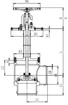 Криогенный запорный клапан угловой CCK T211DL250-300 PN16