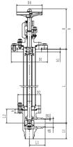 Криогенный запорный клапан угловой CCK T301DL20-40 PN40