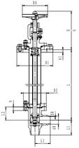 Криогенный запорный клапан угловой CCK T311DL20-40 PN40