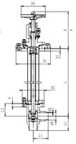 Криогенный запорный клапан угловой CCK T311DL50-100 PN40