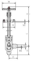 Криогенный запорный клапан угловой CCK T151DB10-15 PN10