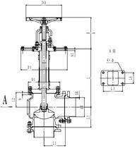 Криогенный запорный клапан угловой CCK T171DB125-200 PN10