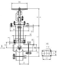Криогенный запорный клапан угловой CCK T171DB65-100 PN10