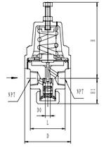Криогенный регулятор давления типа T251DE6