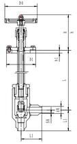 Криогенный запорный клапан угловой CCK T301DB10-15 PN40
