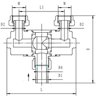 Криогенный переключающий кран типа T305DQ25-50