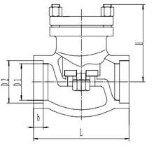Криогенный обратный клапан T335DH10-200 PN40