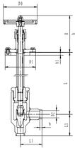 Криогенный запорный клапан угловой CCK T361DB10-15 PN64