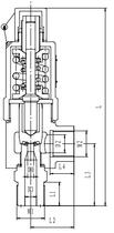 Предохранительный клапан тип T551DK10-15 PN250