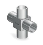 Крестовина приварная для чистых сред серии H-MXA