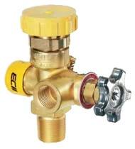 Клапан для отбора газообразной фазы REGO серий 6555R, 8555D и 8555R