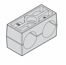 Зажим стандарт двойной N1.CF3 25