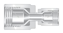Фитинги высокой чистоты из перфторалкокси компактные переходники внутренняя развальцовка