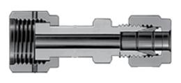 Фитинги с торцевым кольцевым уплотнением VCR втулки с трубным обжимным фитингом Swagelok