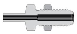 Фитинги с торцевым уплотнением VCR соединители для большого расхода типа H корпуса соединитель монтажной гайкой