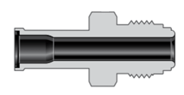 Фитинги с торцевым уплотнением VCR соединители для большого расхода типа H корпуса трубное сварное соединение для автоматической сварки