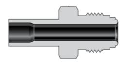 Фитинги с торцевым уплотнением VCR соединители для большого расхода типа H корпуса трубное сварное соединение встык